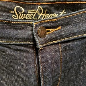 Old Navy Jeans - Old Navy Sweet Heart 14 GUC